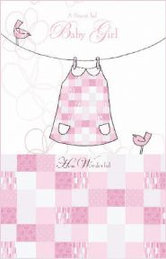 A Beautiful Baby Girl Greeting Card